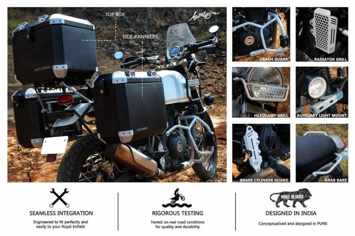 Royal Enfield Himalayan autoengina kit (1)