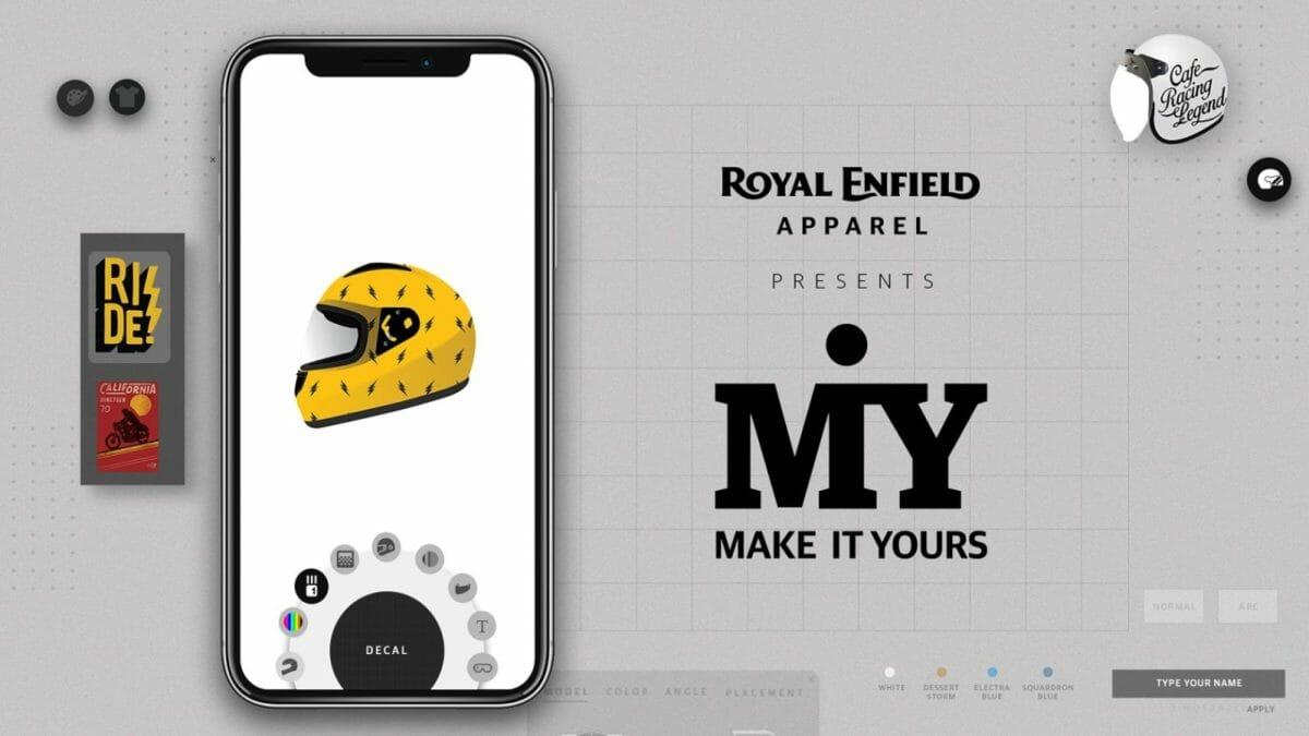 Royal Enfield MiY apparel 2
