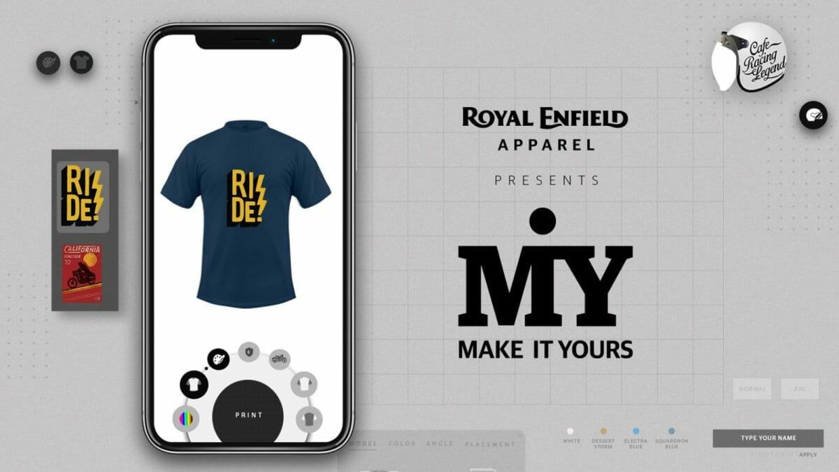 Royal Enfield MiY apparel 3