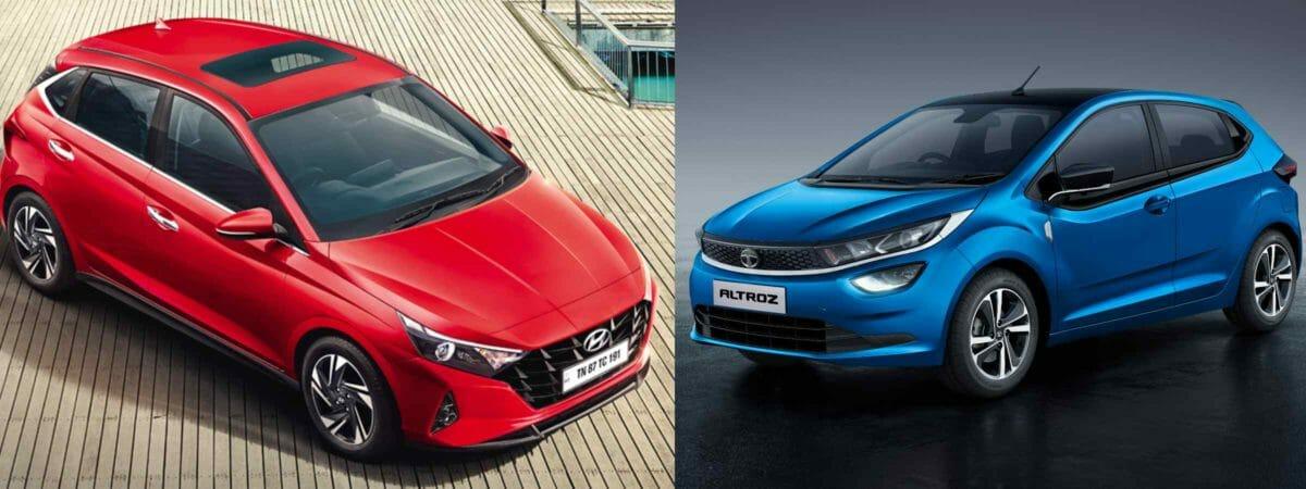 Tata Altroz turbo petrol vs hyundai i20 turbo petrol (1)