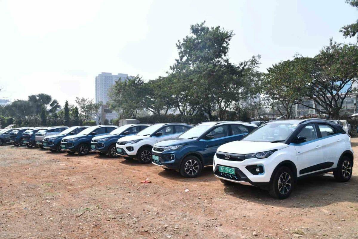 Tata Nexon EV Mileage rally