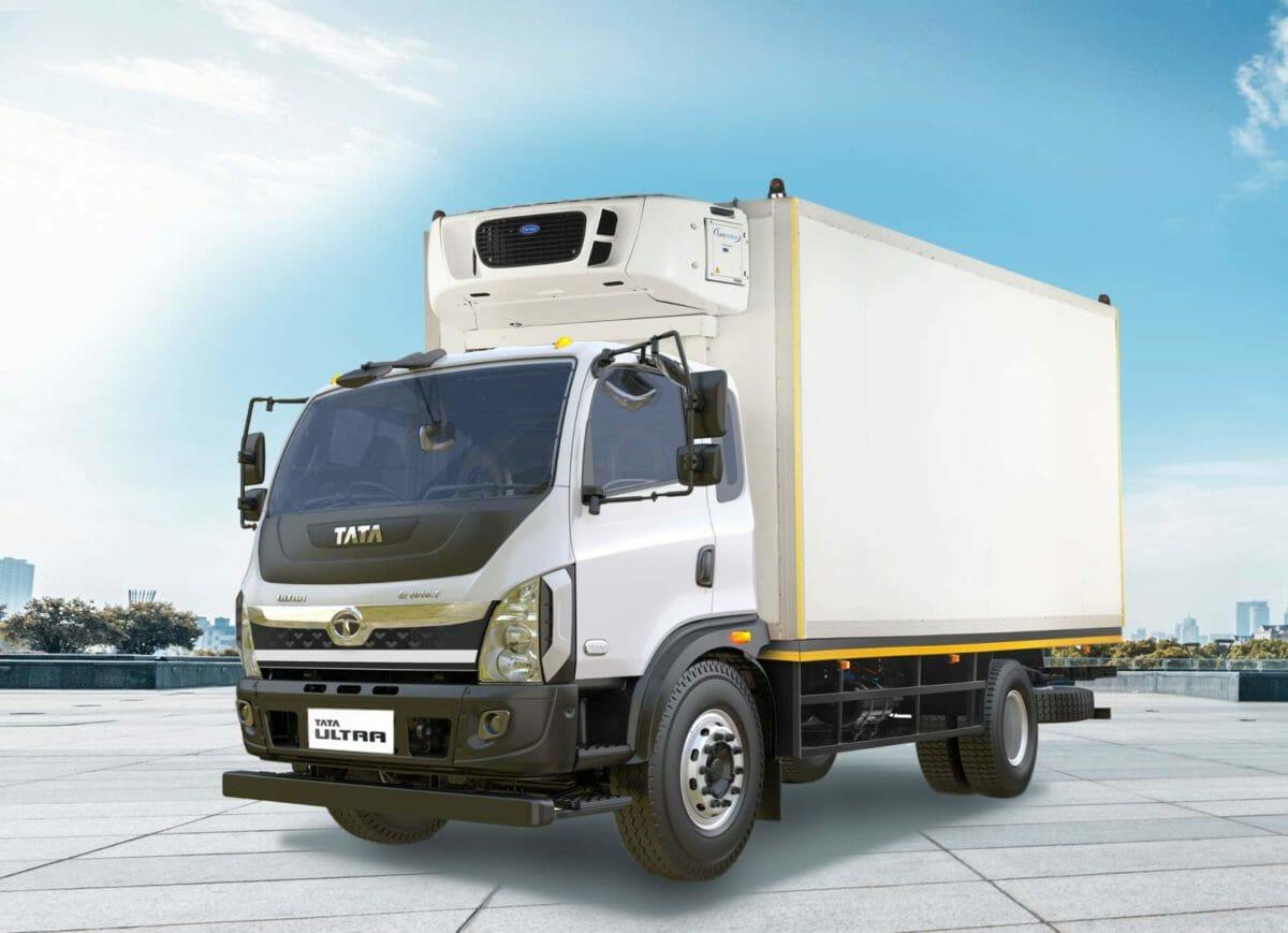 Tata motors vaccice truck