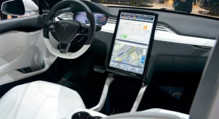 Tesla Model X interiors