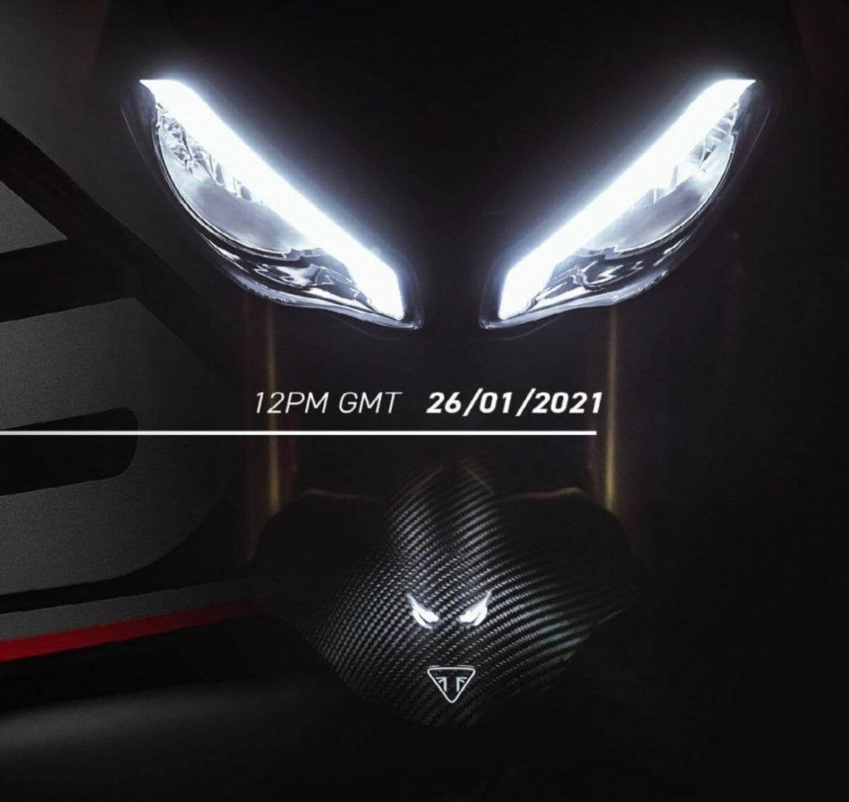 Triumph Speed triple 1200 RS teaser (1)