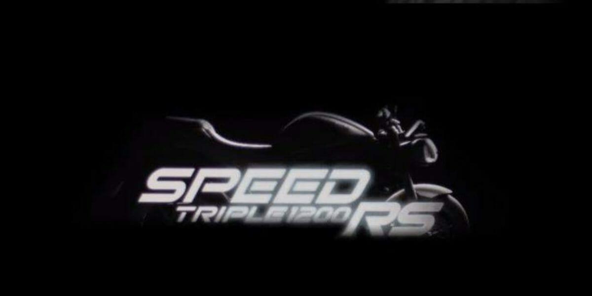 Triumph Speed triple 1200 RS teaser