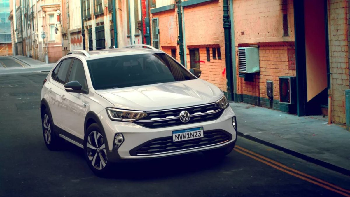 Volkswagen Nivus Front
