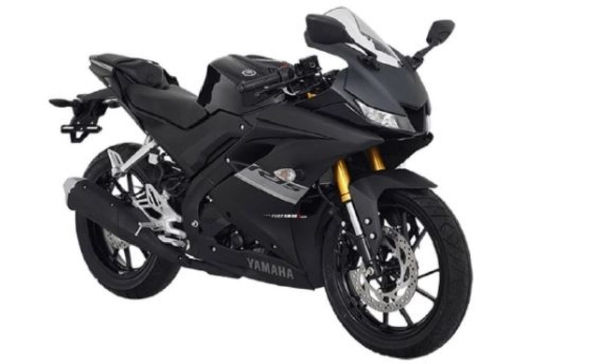 Yamaha R15 2021 matte black