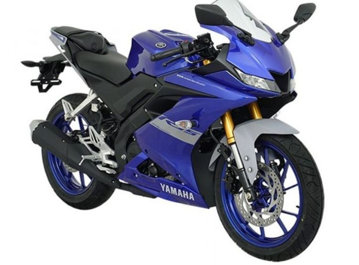 Yamaha R15 2021 metallic blue