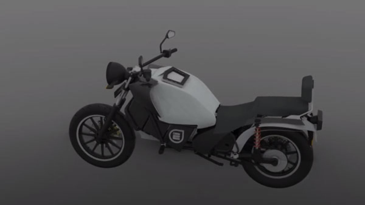 earth energy electric motorcycle
