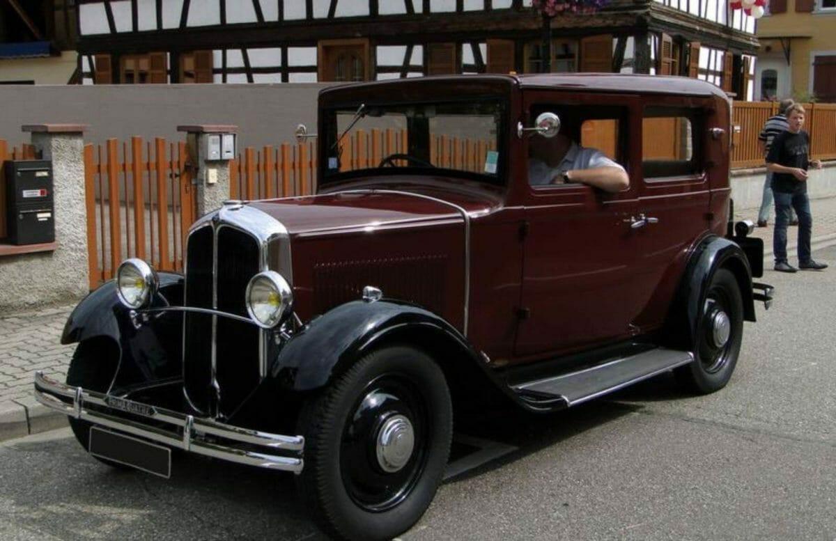 1930 Renault Primaquarte