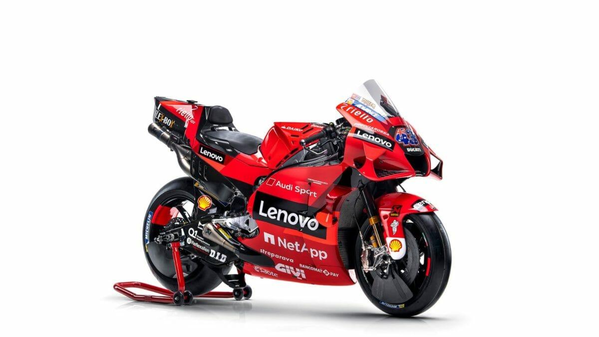 2021 Ducati Lenovo MotoGP livery