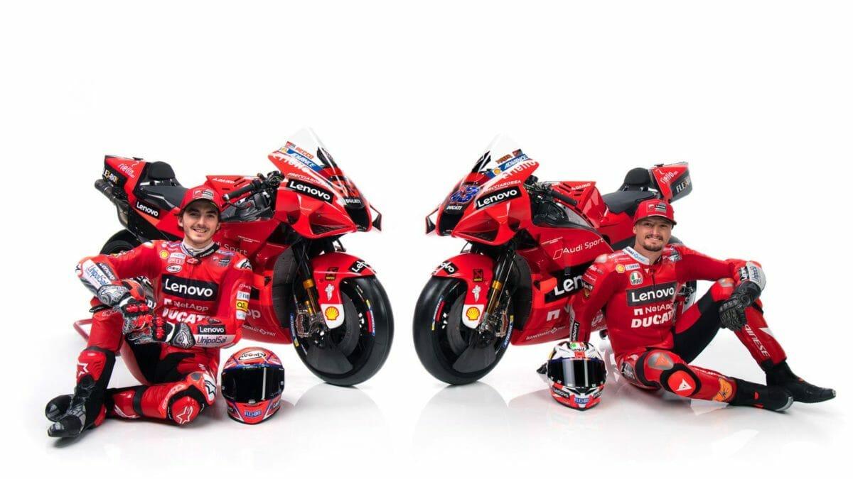 2021 Ducati MotoGP livery