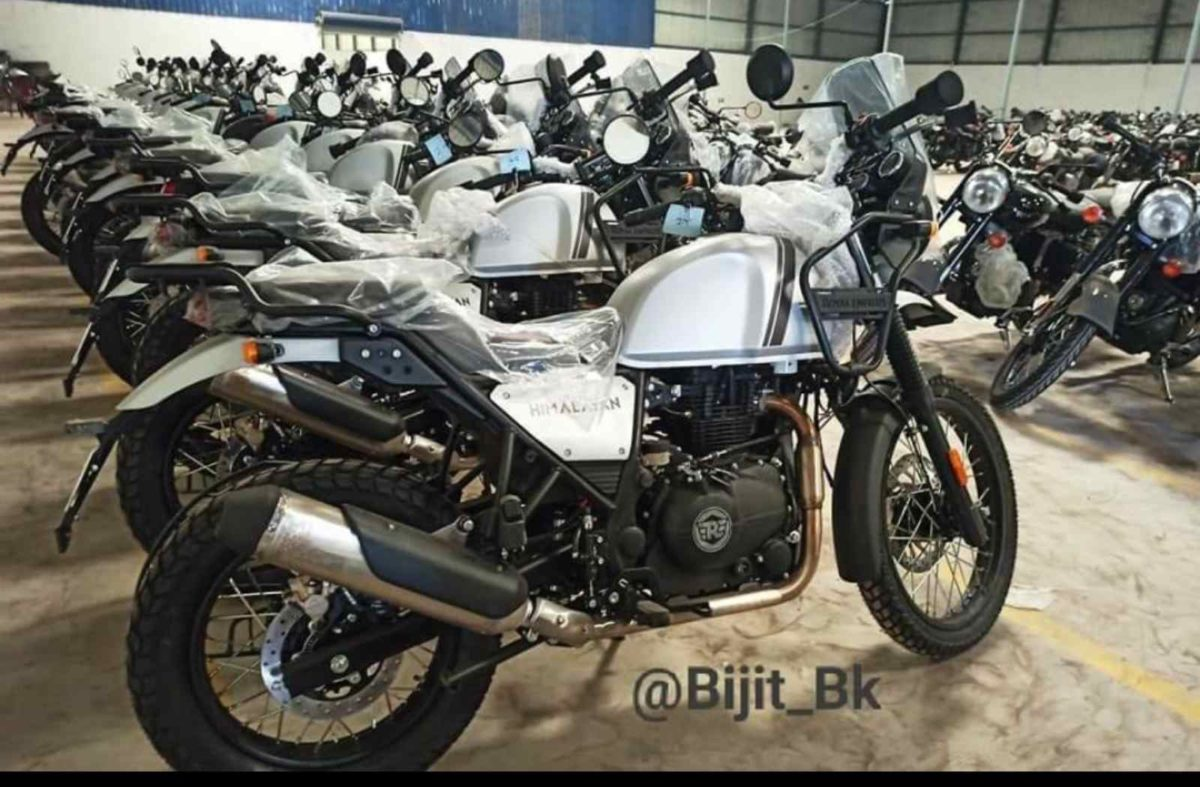 2021 Royal Enfield Himalayan Spied