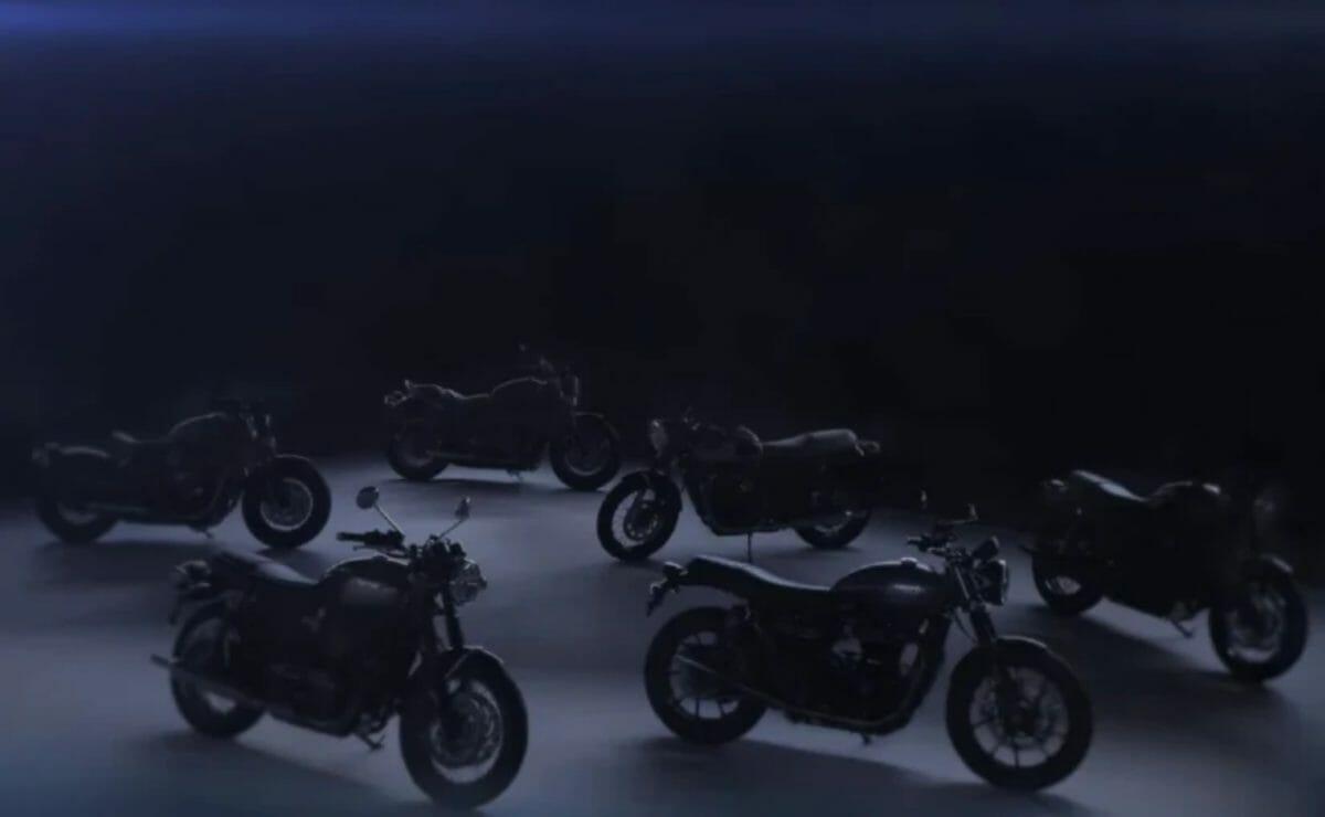 2021 Triumph Bonneville teased