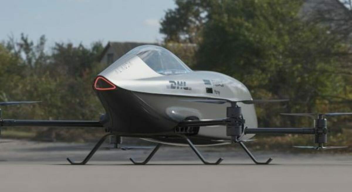 Airspeeder MK3 front 3 quarters
