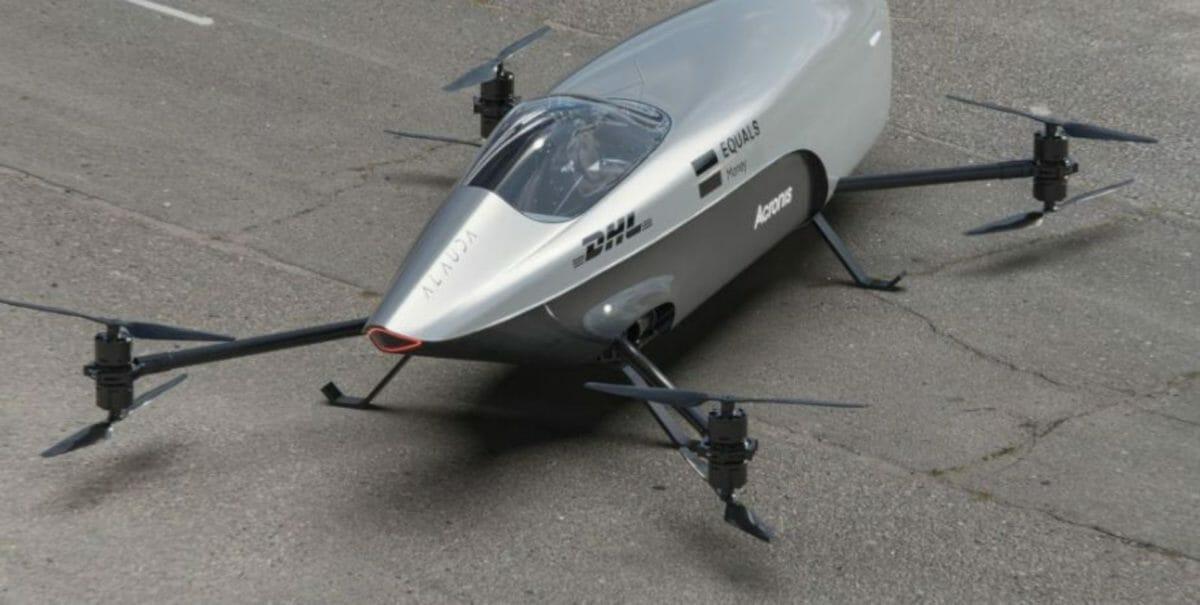 Airspeeder MK3 top view