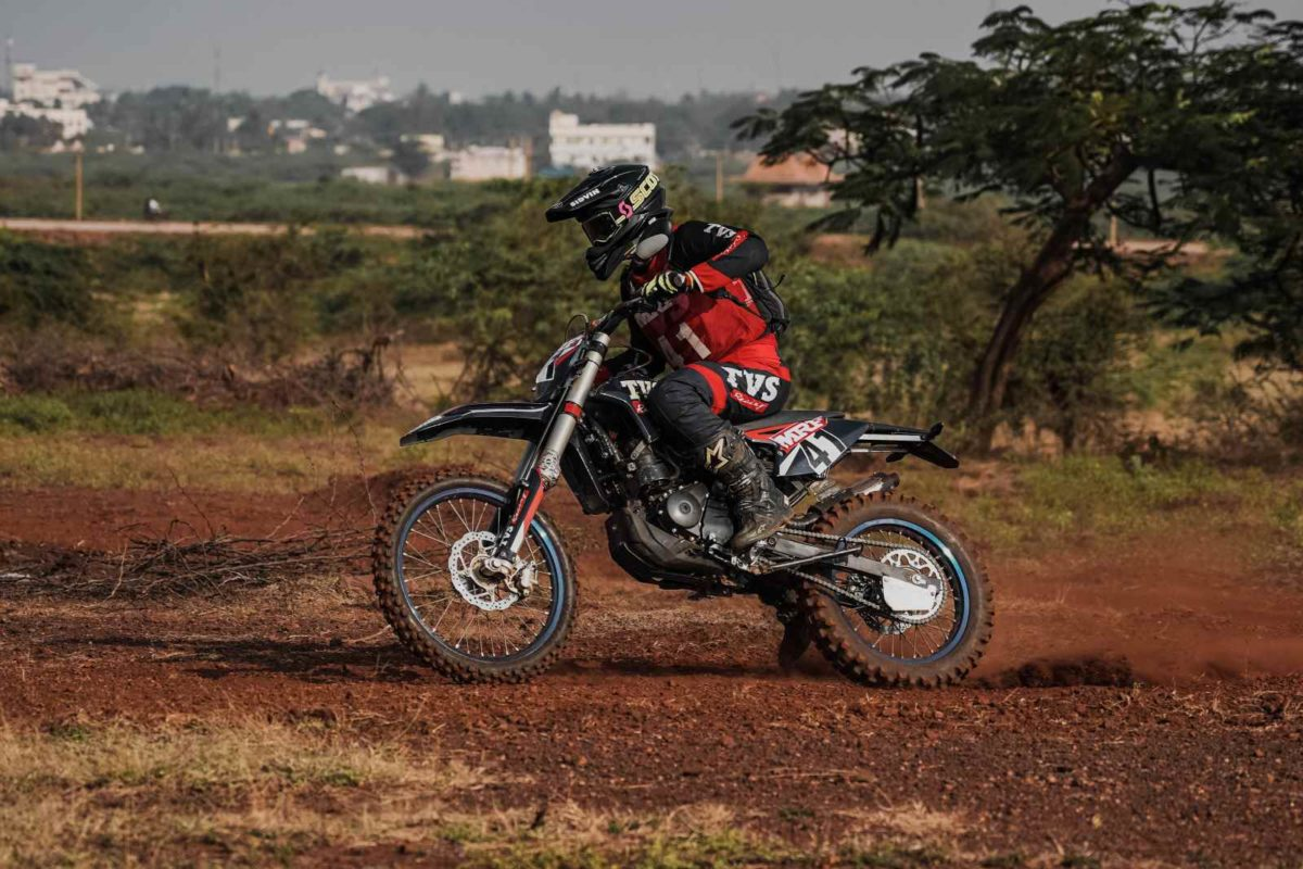 Aishwarya Pissay TVS racing