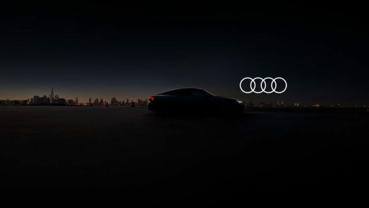 Audi e Tron GT teaser