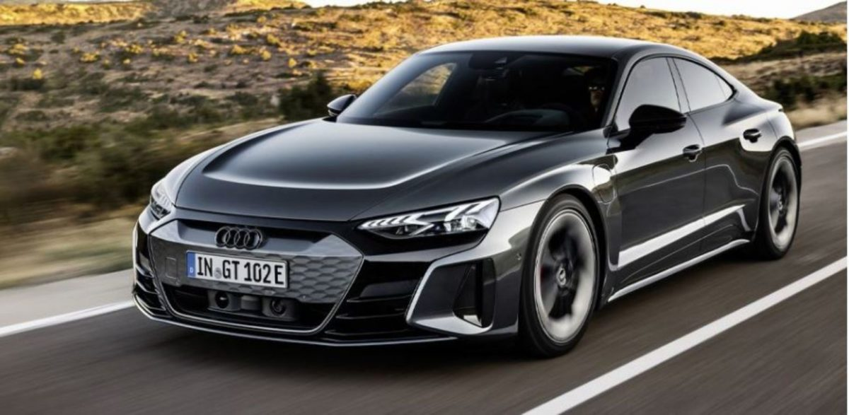 Audi etron GT front 3 quarters