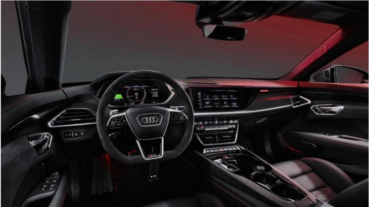 Audi etron GT interiors
