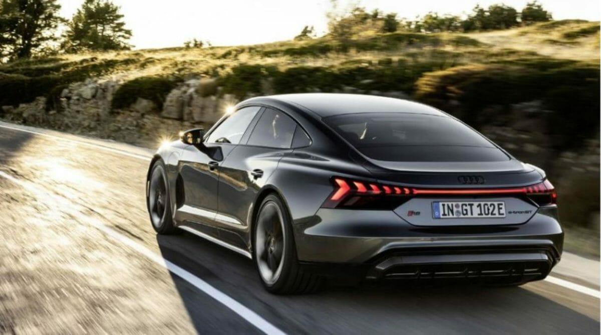 Audi etron GT rear