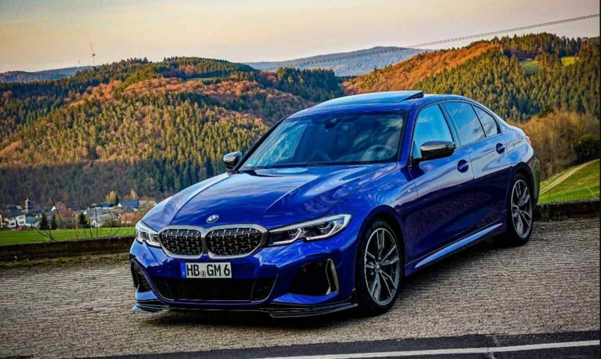 BMW M340i front 3 quarters