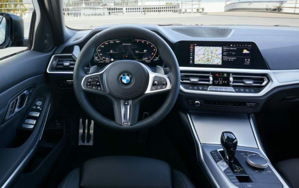 BMW M340i interiors