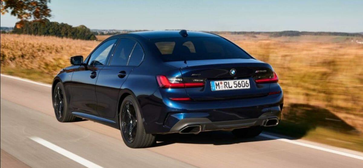 BMW M340i rear 3 quarters
