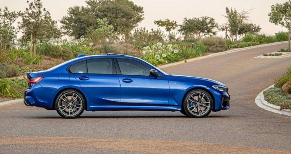 BMW M340i side look