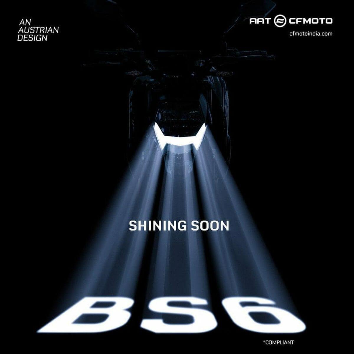 CFMoto 30 NK teaser