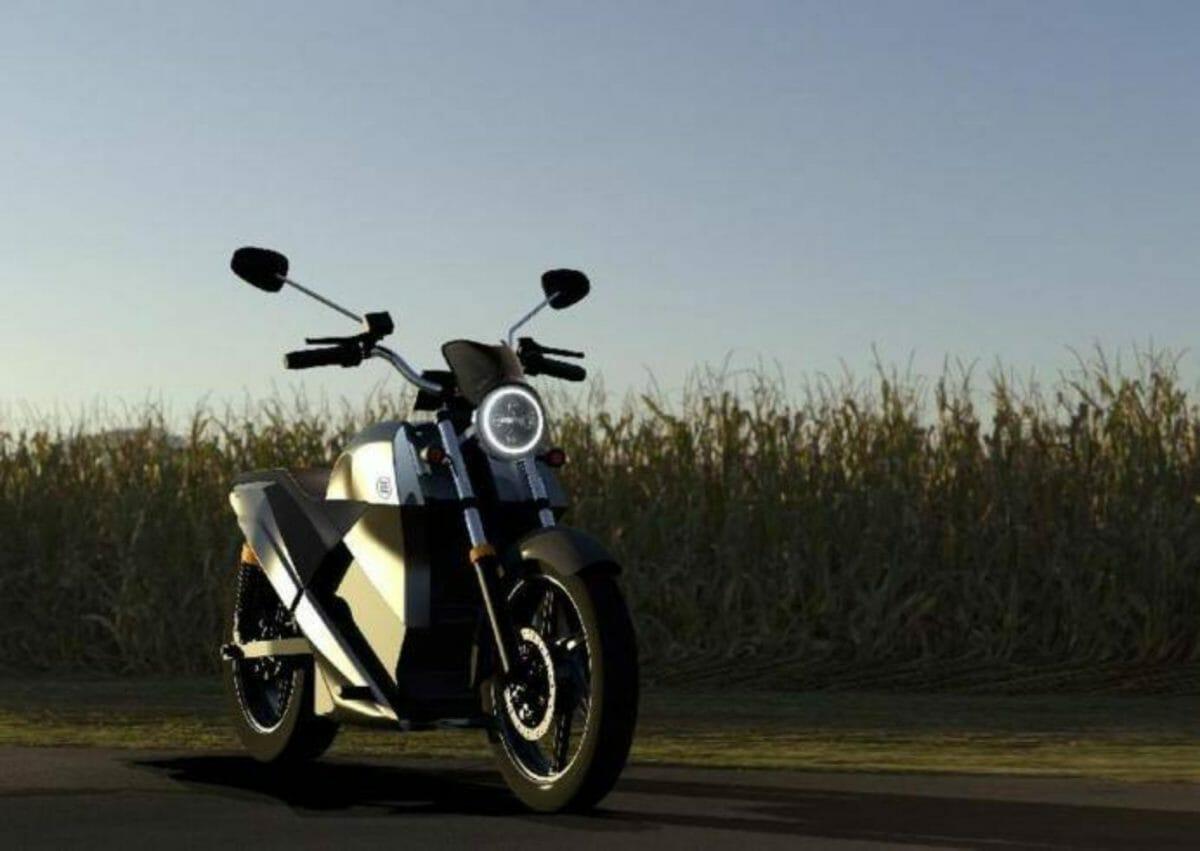 Earth energy electric motorcycle