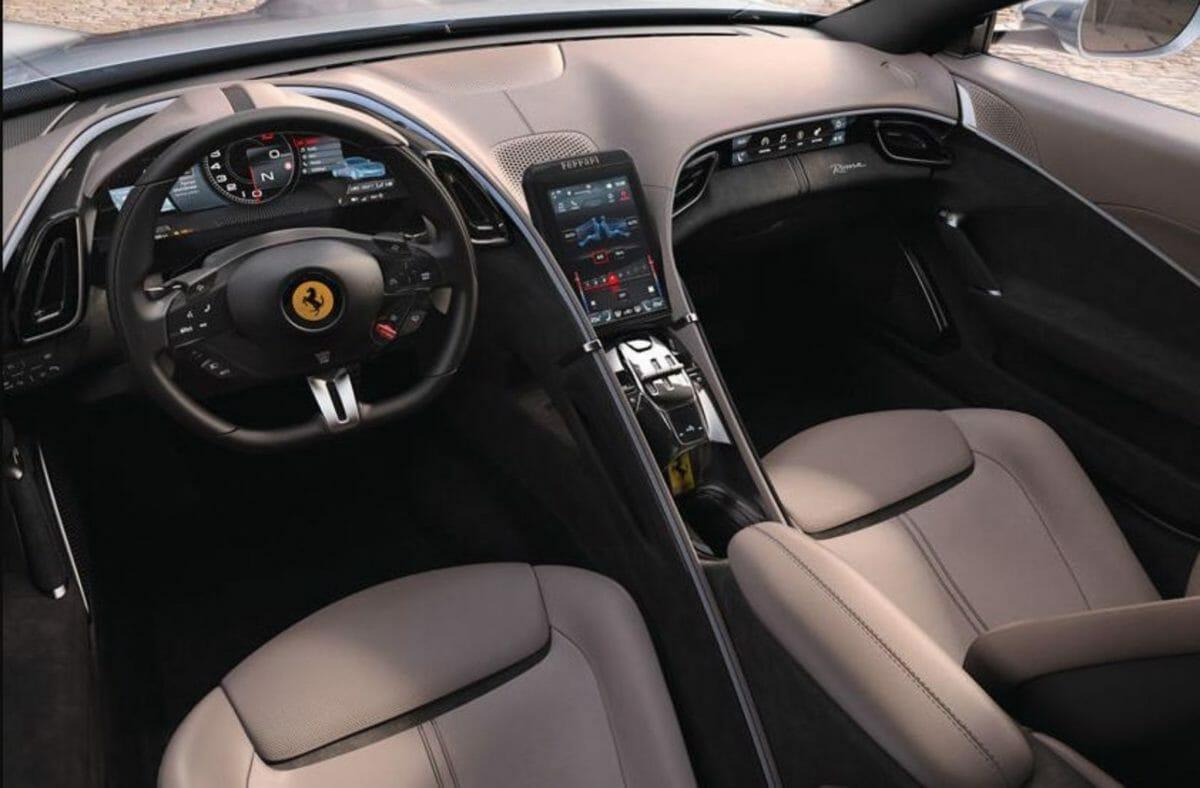 Ferrari Roma interiors