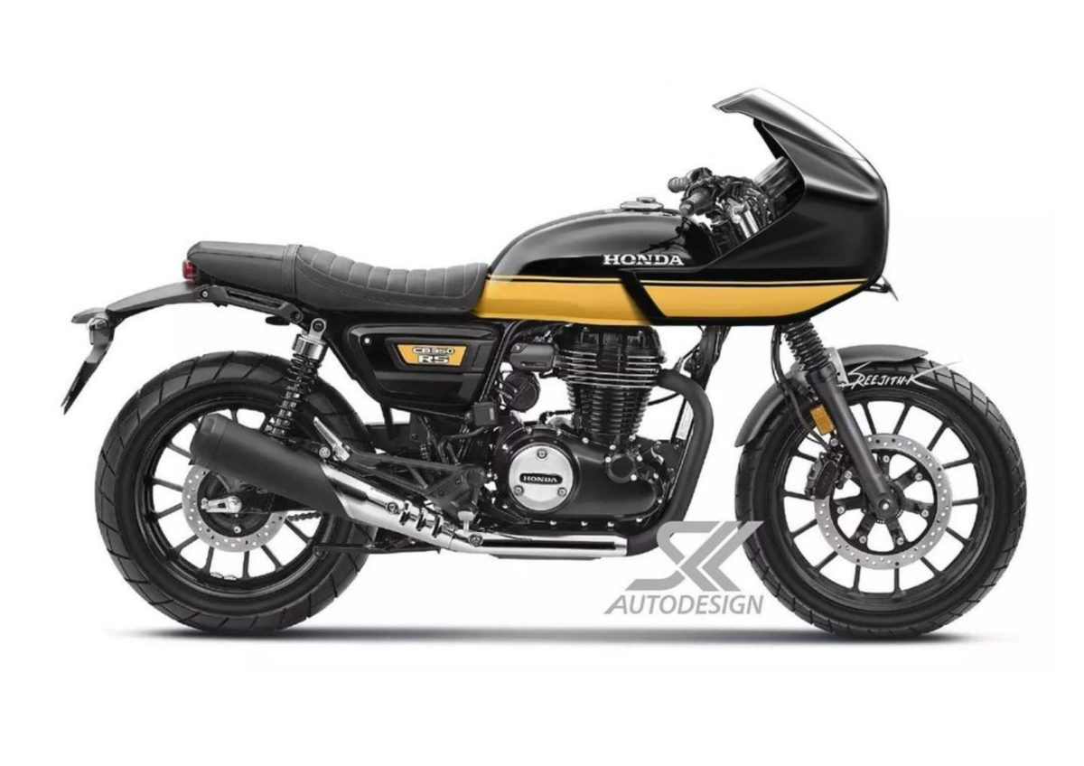 Honda CB350 RS cafe racer (1)