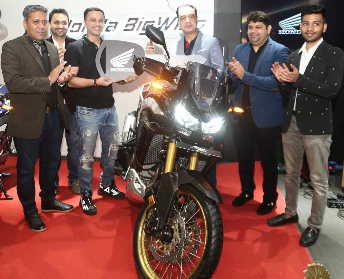 Honda africa twin deliveries