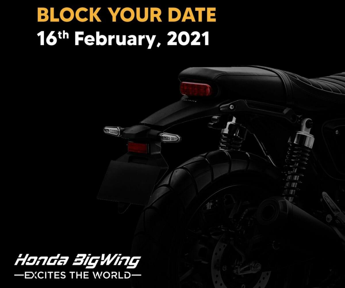 Honda cb 350 teased