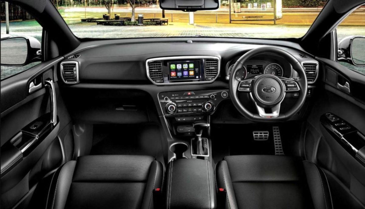 Kia Sportage interiors