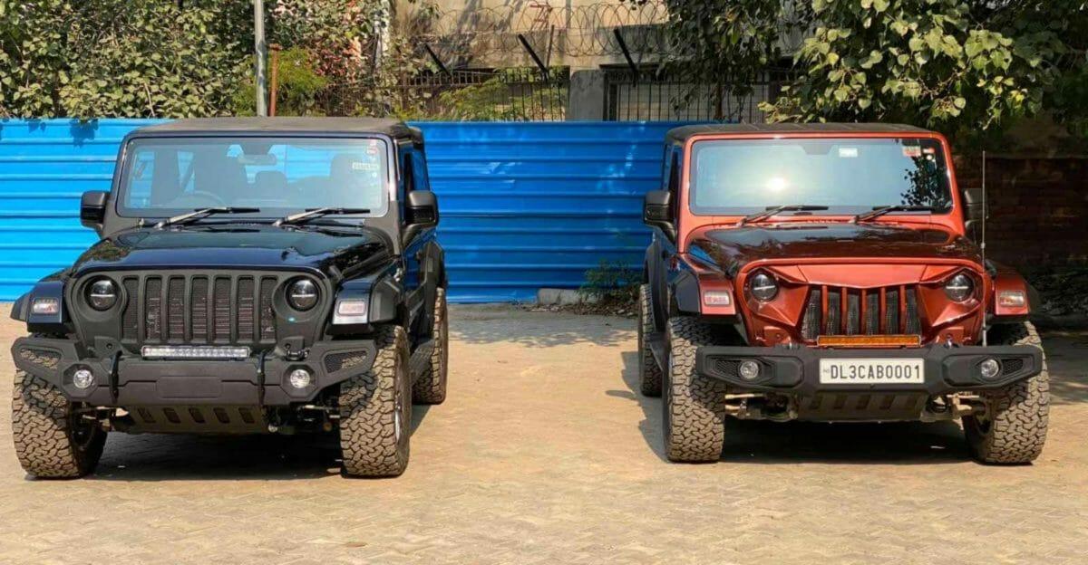 Mahindra Thar modified bimbra 4×4