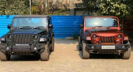 Mahindra Thar modified bimbra 4x4