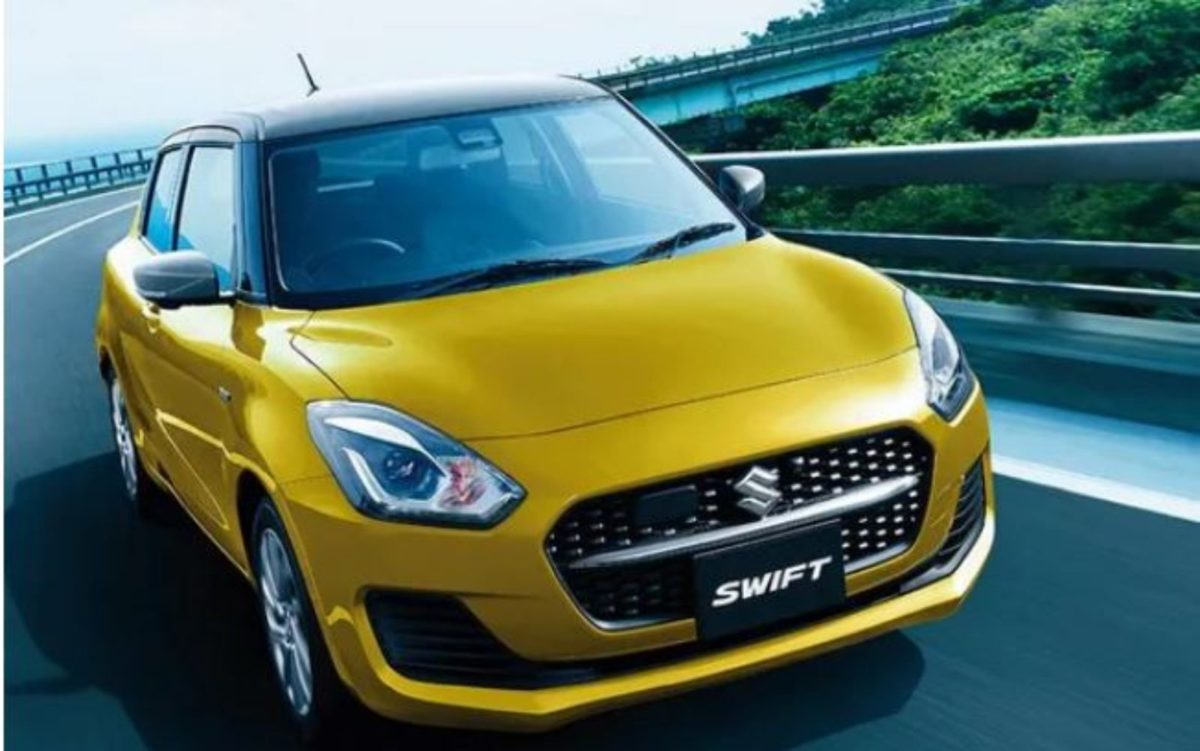 Maruti Swift 2021 front 3 quarters