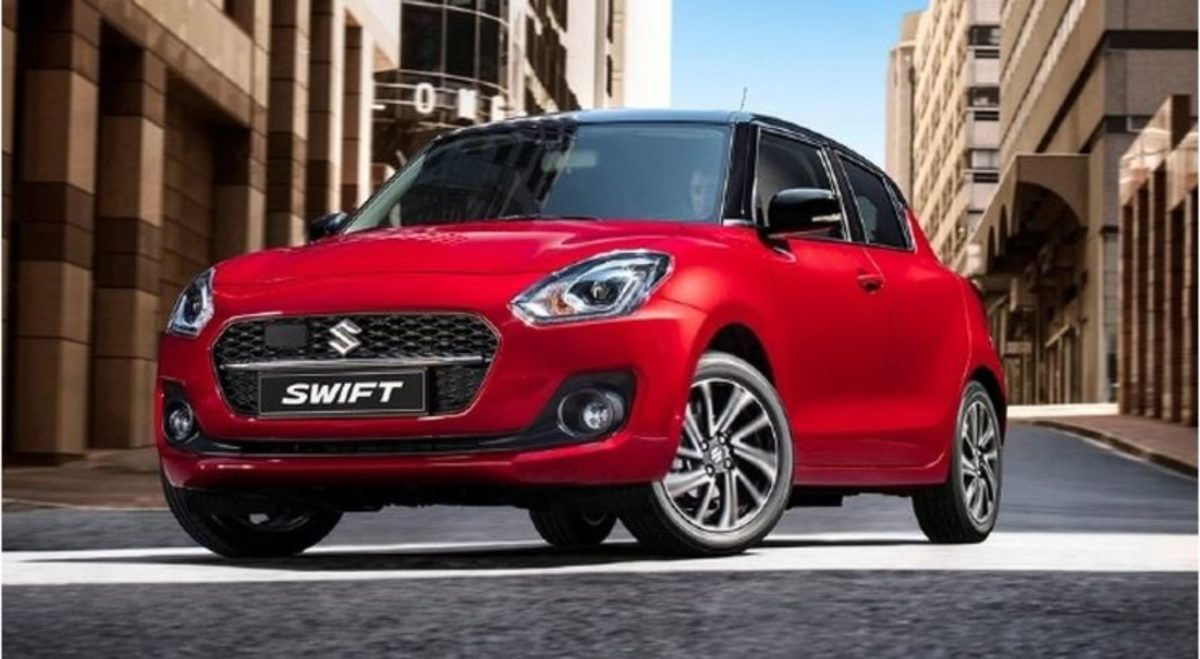 Maruti Swift 2021 front look