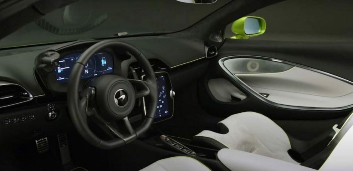 McLaren Artura interiors
