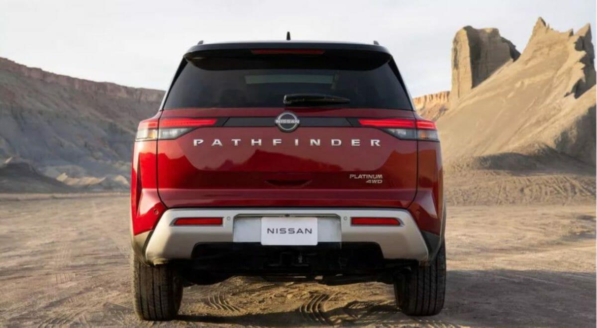 Nissan Pathfinder 2021 rear look