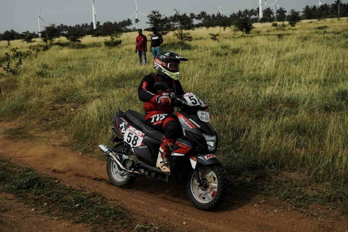Pinkesh Thakkar TVS racing