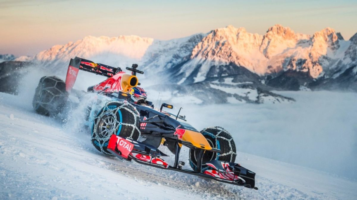 Red Bull F1 Car Real World Stunts (3)