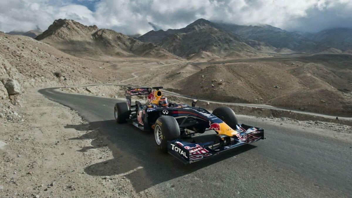 Red Bull F1 Car Real World Stunts (4)