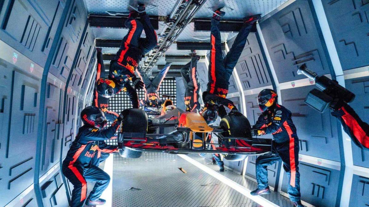 Red Bull F1 Car Real World Stunts (5)