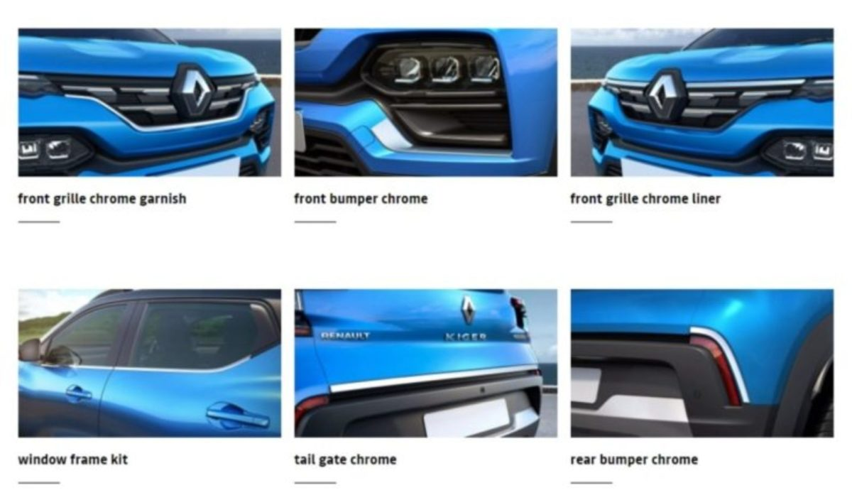 Renault Kiger accessories (1)