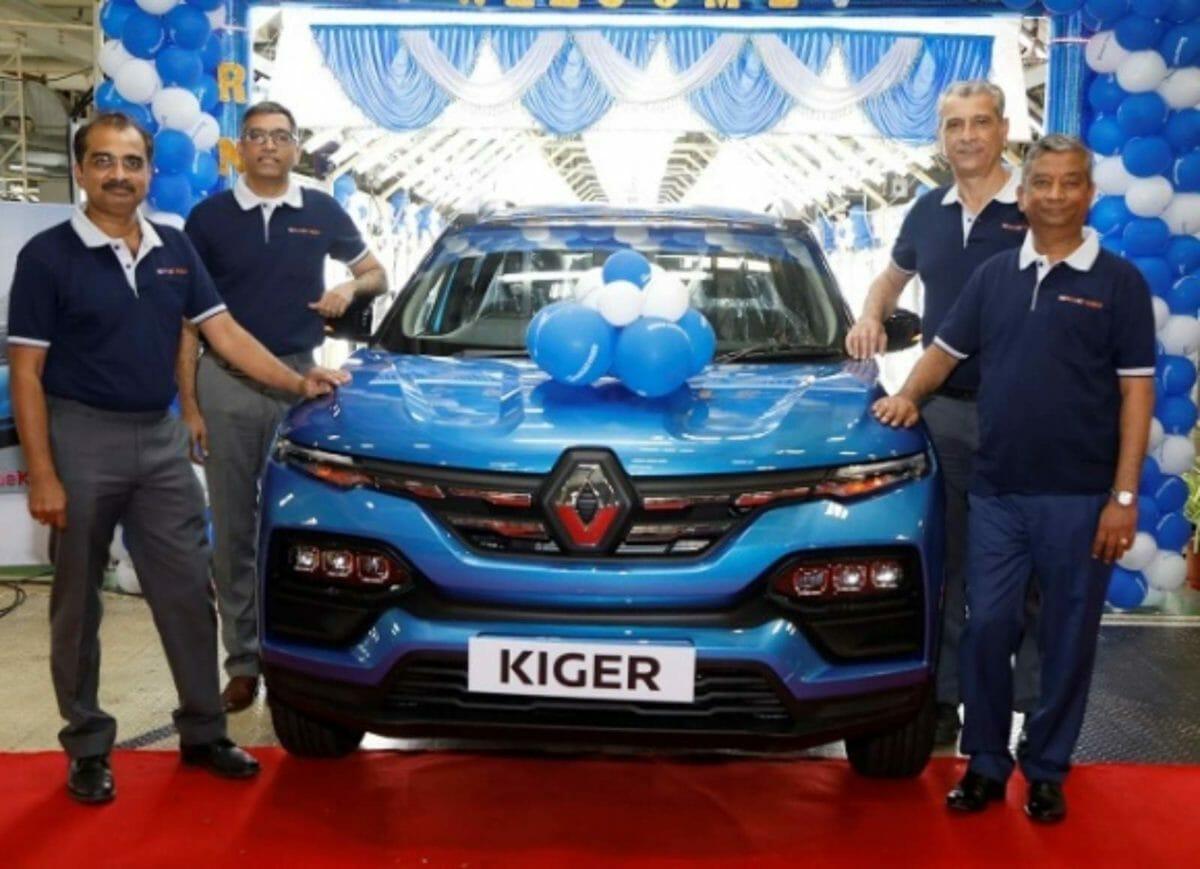 Renault Kiger production
