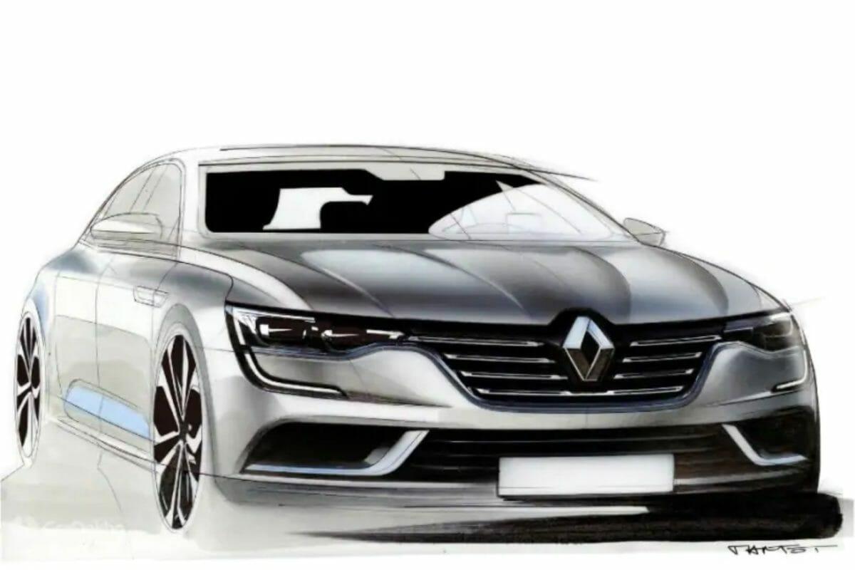 Renault sub 4m sedan