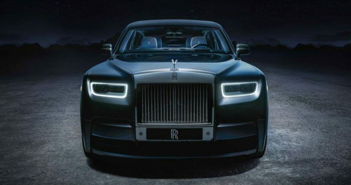 Rolls Royce Phantom Tempus front look